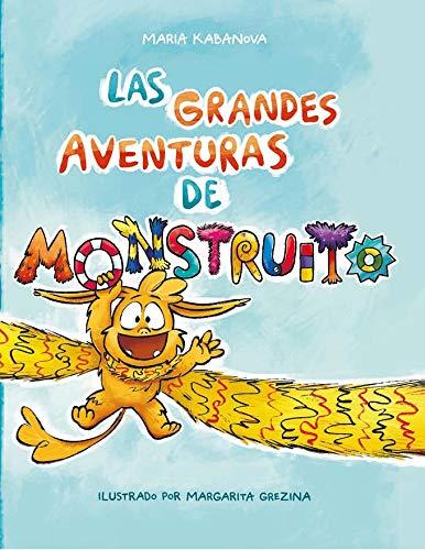 libro de cuentos infantil Las grandes aventuras de monstruito