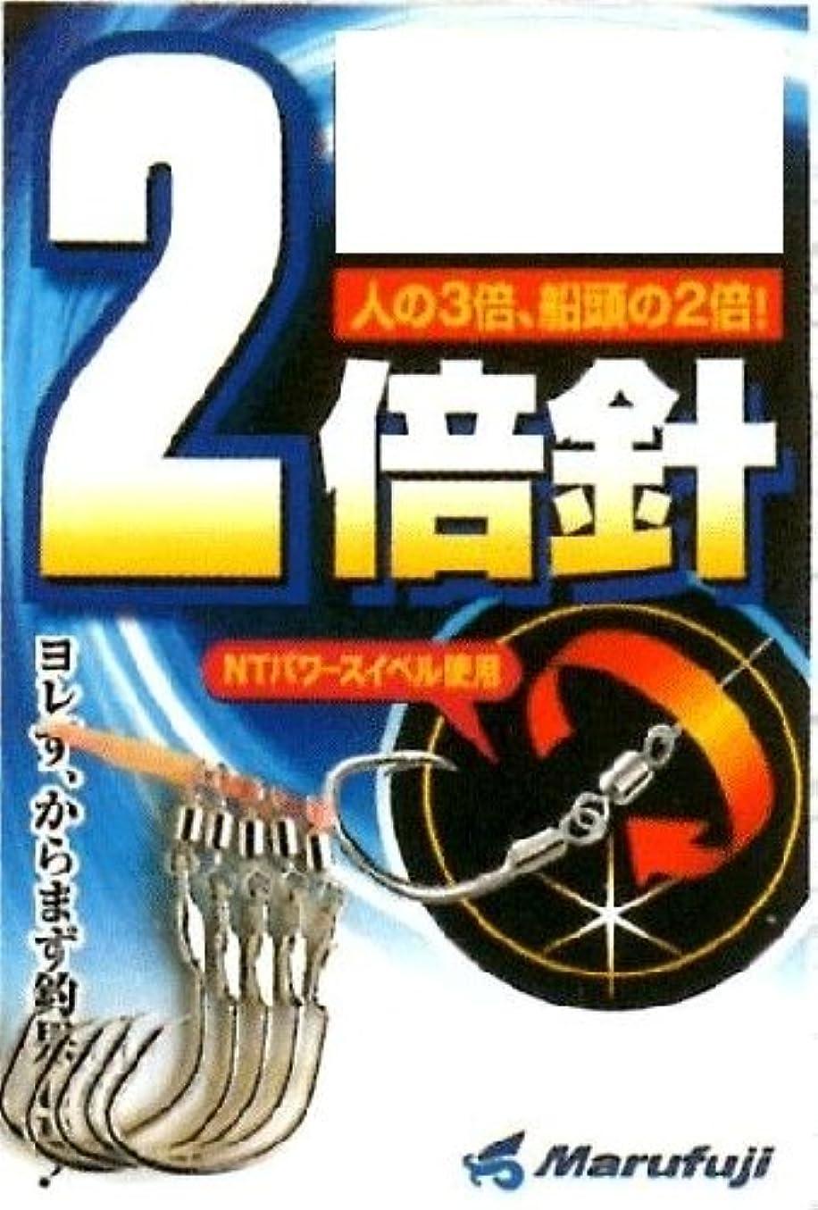 妊娠したブリークサイドボードMarufuji(マルフジ) Z-005 2倍針 フック ムツ 19号 釣り針
