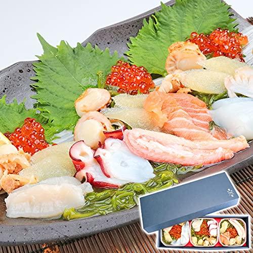 食の達人森源商店 海鮮玉手箱 3食セット アワビ 紋甲イカ 蟹 かに カニ 貝柱 たこ 食品 冷凍便