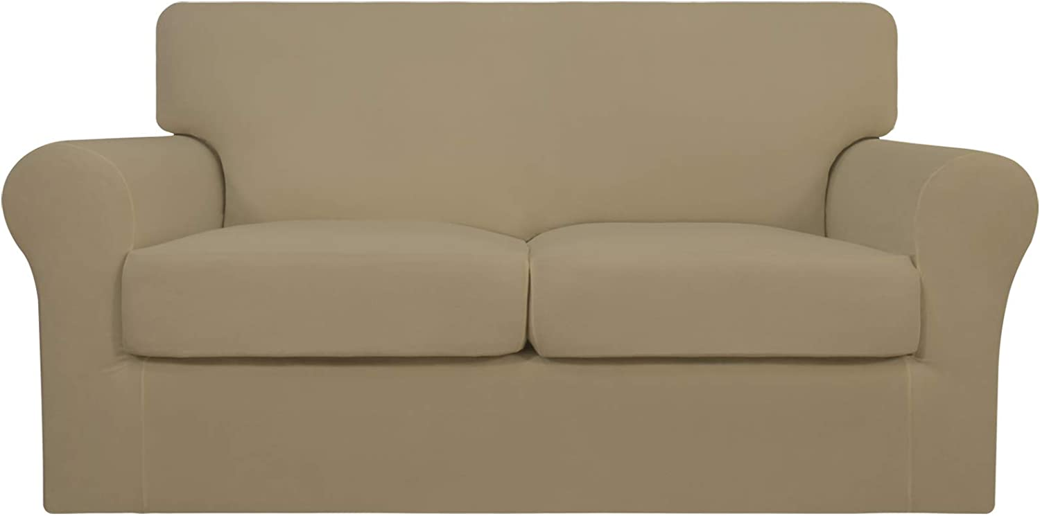 Easy-Going 3 Pieces Stretch Soft Couch Atlanta Mall Dogs for Cover - Washable Ranking integrated 1st place