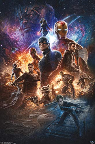 Trends International MCU: Avengers: Endgame - Grid Wall Poster, 22.375' x 34', Unframed Version