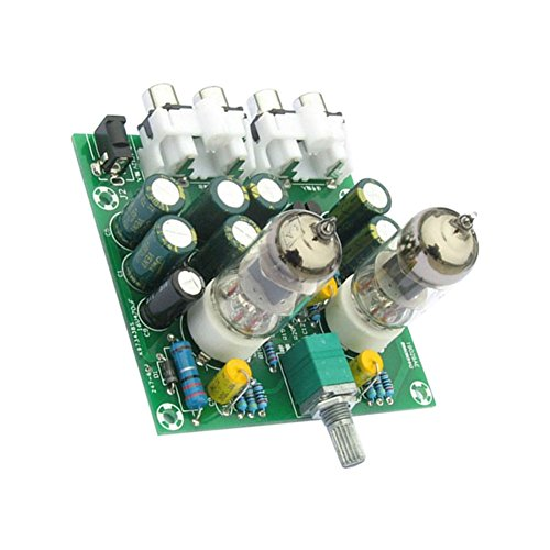 Rokoo Aoshike 6J1 válvula de tubo de preamplificador Bile Buffer DIY Kit Pre-amplificador de amplificador de la placa de auriculares Amp Preamplificador