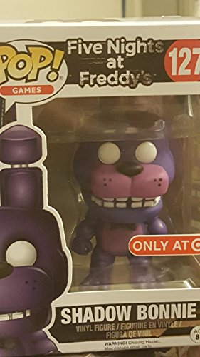 Funko - Figurine Five Nights at Freddy's - Shadow Bonnie Exclusive Pop 10cm - 0889698113427