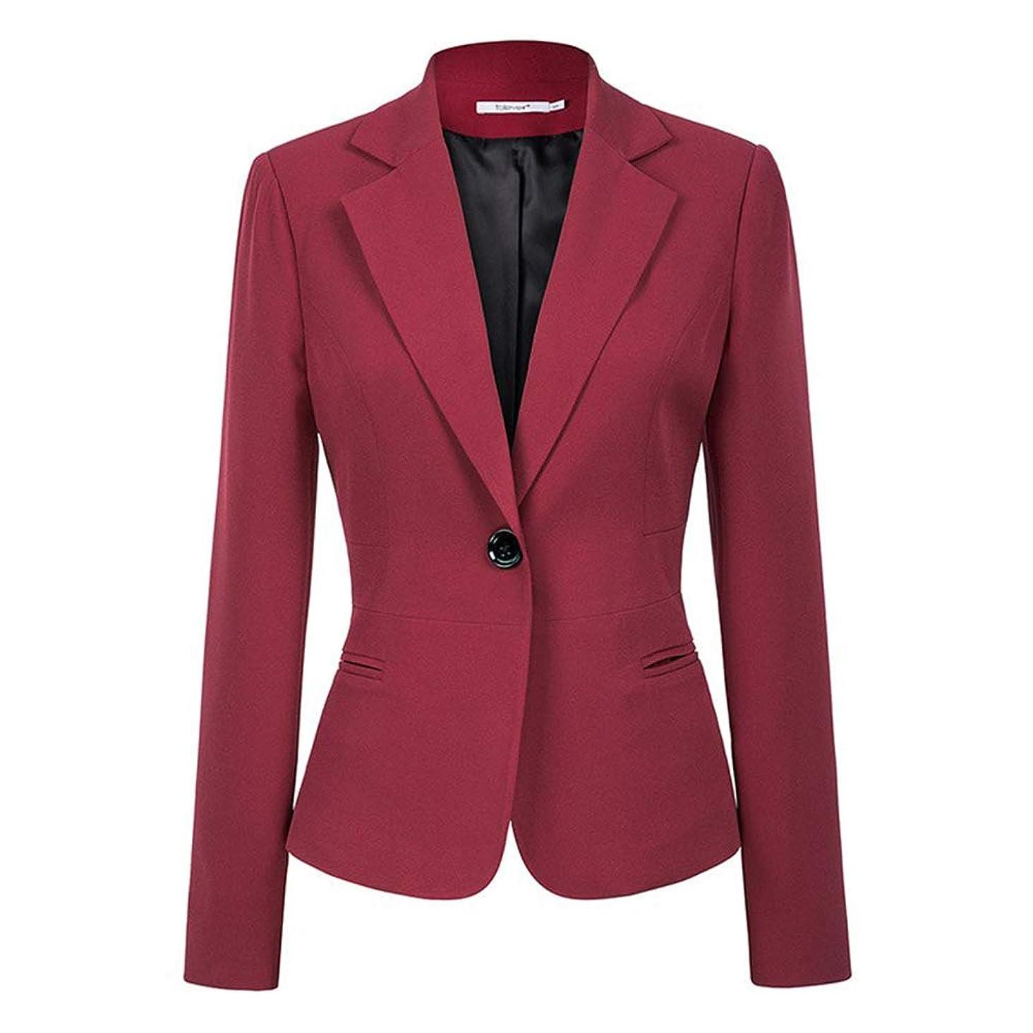 aoliaoyudongyongpin Jackets 2018 Fashion Single Button Blazer Femenino Office Ladies Blazer Coat Zevrez