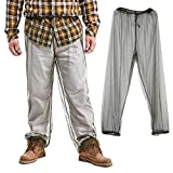 Bug Pants Mosquito Net Repellent Clothing - Ultimate Protection from Bugs, No-See-Ums, Midges, Perfect for Hiking, Camping, Fly Fishing & Outdoor Activities