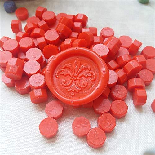 100 pcs/lot Vintage Cire D'étanchéité Tablette Pilule Perles pour Enveloppe De Mariage Cire Sceau Ancien Cire Cachet Timbre avec sac en plastique, Couleur 32