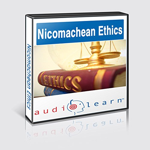 Aristotle's Nicomachean Ethics AudioLearn audiobook cover art