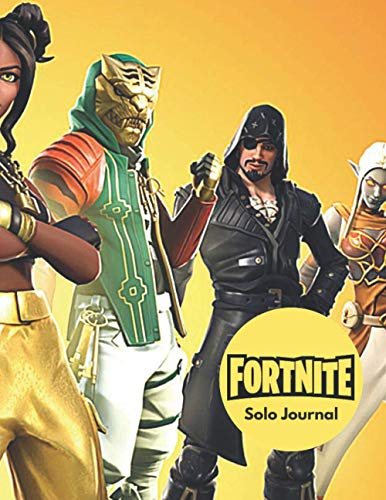 FORTNITE: Weapon Solo Journal: (8.5 x 11 inches) 100 pages Lined Notebook - Fun For Kids, Boys, Girls and Adults