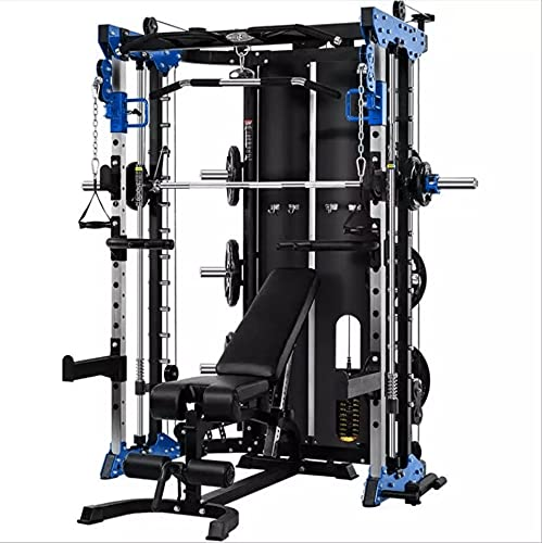 Commercial Home Gym - Smith Machine, Cables with Built in...