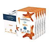 Hammermill Printer Paper, Multipurpose Inkjet Paper 24 lb, 8.5 x 11 - 5 Ream (2,500 Sheets) - 96 Bright, Made in the USA