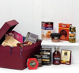 La caja de regalo de lujo de Warwick Cesto de comida gourmet