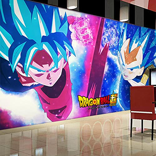 3D Japanese Anime Wallpaper Dragon Ball Super Character Poster Background Wall Decoration Gym Wallpaper 140(L) x100(H) cm