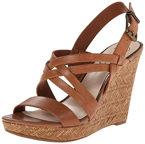 Jessica Simpson Women's julita Wedge Sandal, Light Luggage, 7 M...