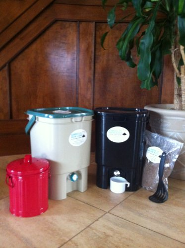 VermiHut Bokashi Compost Kit- Premium Twin Model