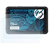 Bruni Schutzfolie kompatibel mit Caterpillar CAT T20 Folie, glasklare Bildschirmschutzfolie (2X)