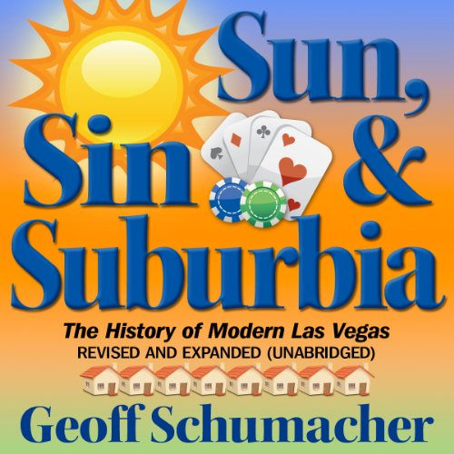 Sun, Sin, Suburbia audiobook cover art