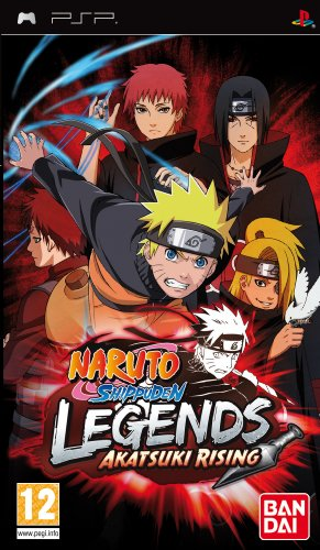 Namco Bandai Games Naruto Shippuden: Legends - Akatsuki Rising, PSP