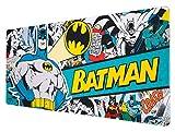 Alfombrilla ratón Batman DC Comics - Alfombrilla gaming - Mousepad XL - Batman merchandising / Alfombrilla XXL - Alfombrilla escritorio - Tapete escritorio - Alfombrilla ratón ideal accesorio gamer