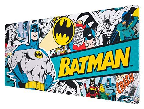Erik® - Tapis de Souris XXL DC Comics Batman - Tapis de Souris Gamer - Mouse pad 80 x 35 cm