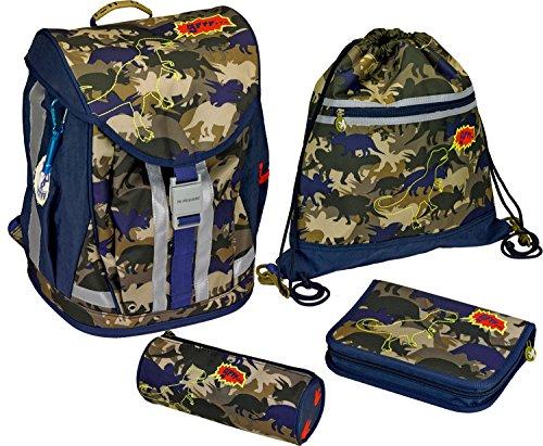 t-rexworld Flex Style Camouflage Schulrucksack-Set, 28x 38x 20cm, Modell # 11869Massagestuhl Therapiestuhl