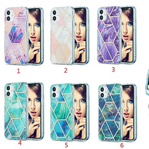 Funda de teléfono para Samsung Galaxy S20 Lite FE S21 PLUS Ultra 4G A51 A71 A42 5G (color: MULTI, material: para SAM S21 Ultra)