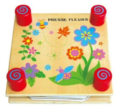 Sapin Malin - SM59487 - Jouet Premier Age - Jouet en Bois - Presse à Fleurs pour Herbier