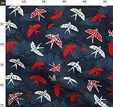 Kirschblüte, Origami, Schlucken, Fliegender Vogel, Wolken