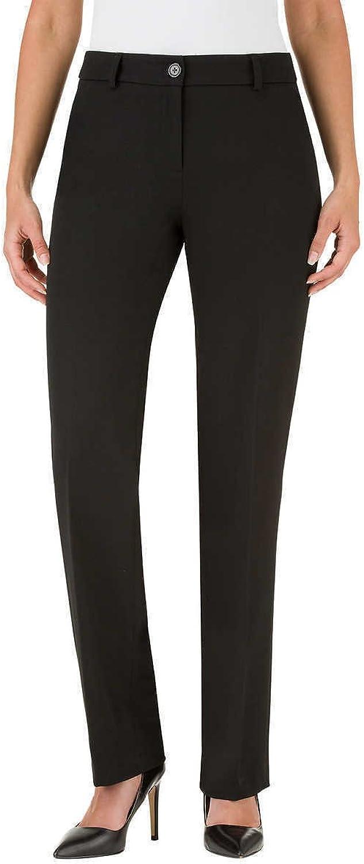Hilary Radley Womens Slim Leg Flat Front Dress Pant
