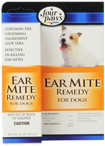 Four Paws Ear Mite Remedy $4.49 (REG $10.49)