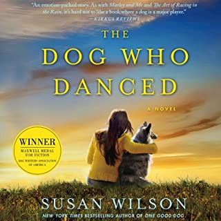 The Dog Who Danced audiobook cover art