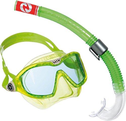 Aqua Lung Sport Unisex Jugend Kids Mix Maske und Schnorchel Combo-Lime