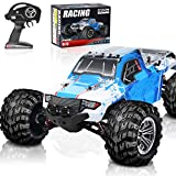RC Cars, 45KM/H+ High Speed Remote Control Car for Adults 1/12 4WD IPX5 Waterproof All Terrains Off Road Monster Trucks 2.4GHz Hobby Toys with Brushed Motor and 7.4V Large Battery Pack