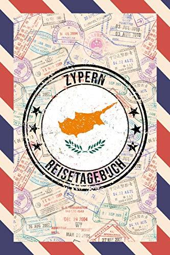 Zypern Reisetagebuch: A5 Reise Journal I Notizbuch I Urlaubs Planer I Road trip Planer I Travel notebook I 6X9 Pocket journal I Geschenk für Backpacker