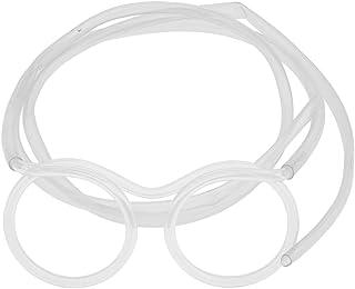Prettyia Funny Drinking Straw Glasses Crazy Party Flexible Tube Kids Joke Fun Toys