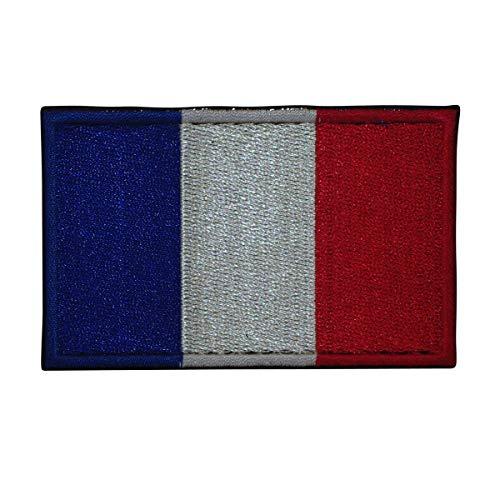 Cobra Tactical Solutions Flagge Frankreich Besticktes Patch mit Klettverschluss für Airsoft Paintball für Taktische Kleidung Rucksack