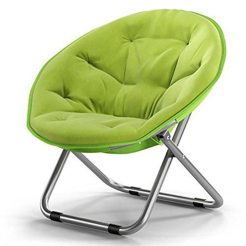 KSUNGB chaises Longues Chaise Lounger Plates-Formes Pliantes Bureau Daybeds Chaises Rondes Chaises de canapé, Green