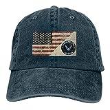 YeeATZ U S Air Force Vietnam Era Veteran Decal Unisex Washed Retro Denim Hats Adjustable Dad Hats Baseball Hat New