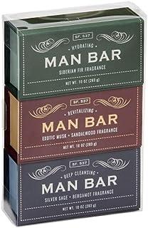 San Francisco Soap Co Man Bar 3-Piece Gift Set