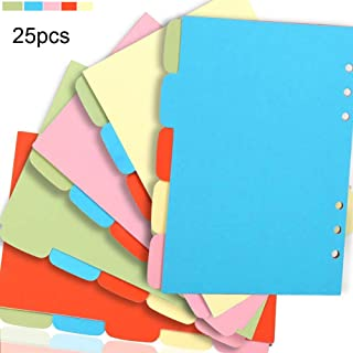 Pink Theme 10pcs A5 Dividers BLUGUL Gold Stamping A5 Intercalaire 6 Trous