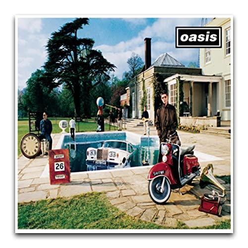 Oasis - Be Here Now Album Covermodern art parete soggiorno camera da letto palestra decorazione poster 30 x 30 cm