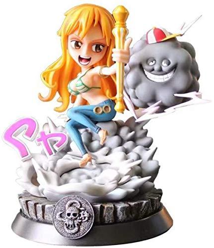 KIJIGHG Una Pieza Sailor PT Zeus Nami GK Estatua Figura decoracin Figura de Anime Figura de accin Modelo de Personaje 26cm