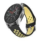 ISABAKE Correa de Reloj de 22 mm Compatible con Galaxy 46 mm, Gear S3 Frontier/Classic, Fossil Gen 5...