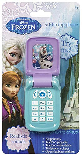 Sambro Disney Princess Cellphone Phone Frozen Elsa Anna Ages 4 and Up