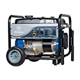 Westinghouse WH5500 Gas Powered Portable Generator - 5500 Running Watts and 6750 Starting Watts - Gas Powered - CARB Compliant