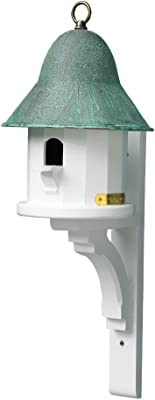 Lazy Hill Farm Designs 999134 White Solid Cellular Vinyl Bracket for Bird House (Sold Separately) (Discontinued)