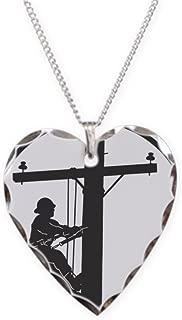 Best lineman necklace charm Reviews