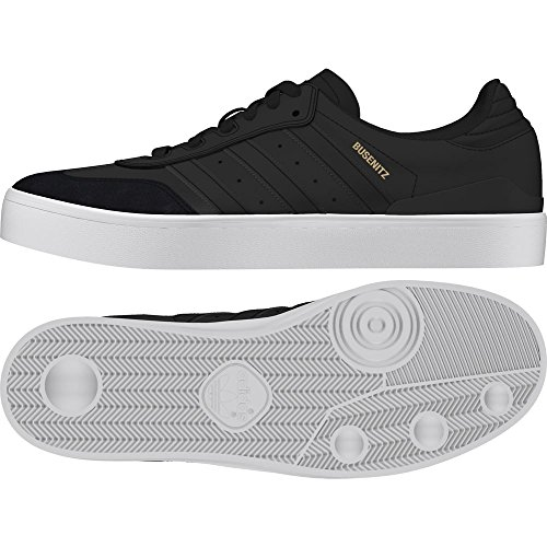 adidas Busenitz Vulc RX, Zapatillas de Skateboard Hombre, Negro (Cblack/Cblack/Ftwwht Cblack/Cblack/Ftwwht), 38 2/3 EU
