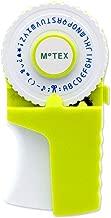 MoTEX Embossing Label Maker, Label Writer -E-303 (Lime)