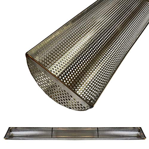 U-Shaped Trench Drain Liner Scrap Basket Strainer - 3 Feet Long - 4 inches Wide