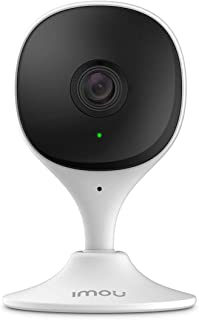 Imou WiFi Security Camera (White), Up to 256GB SD Card Support, 1080P Full HD, Human Detection, Audio Recording, Night Vis...